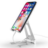 Wholesale COMER Adjustable portable and folding table aluminium tabletop phone hold for i phone tablet support stand holder from china suppliers