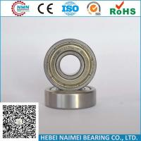 Quality Double Shielded Ball Bearings, Double Seal Deep Groove Ball Bearing 6000zz 6000 for sale