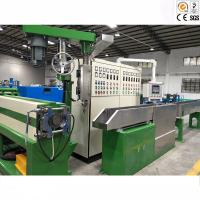 China High Capacity Wire And Cable Machinery / Power Cable Jacket Extrusion Line for sale