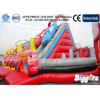Wholesale Giant Commercial Kids Inflatable Slides For Adults Amusement Park With Obstacle from china suppliers