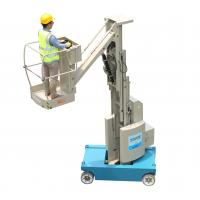 Wholesale 8m Platform Height 360 Degree Free Rotation Self Propelled Mast Boom Lift from china suppliers