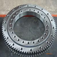 China china four point contact slewing bearing for mini excavator supplier  231.20.0400.013 ,size504x304x56mm for sale