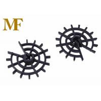 Great Cohesion Plastic Wheel Rebar Spacers Customized Color For Concrete Cover for sale
