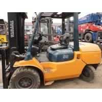 Wholesale 5ton  TOYOTA  FORKLIFT  used forklift , 5meters high  3 door frame from china suppliers