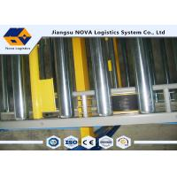 Wholesale Warehouse Storage Gravity Pallet Racking Corrosion Protection For Chemical Industry from china suppliers