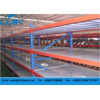 Warehouse Q235B Cold Roller Steel Heavy Duty Storage Racks with Steel Board
