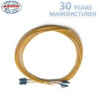Wholesale 2 Meters Optical Fiber Patch Cord , Duplex Fiber Optic Patch Cable G652D from china suppliers