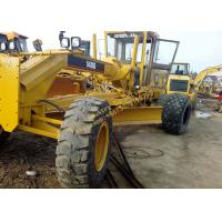 Yellow Color Used Motor Grader 140G 2009 Year With 138kW Rated Power for sale