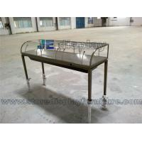 China Metal stainless steel Showcase Fixture for Jewelry display on sale