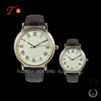 Best High quality luxuly couple leather band watches for men and women wholesale