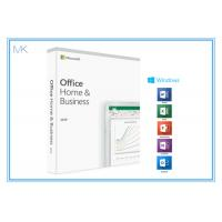 China 1 Device MS Office Home And Business 2019 Product Key Card DVD Media For Mac/PC for sale