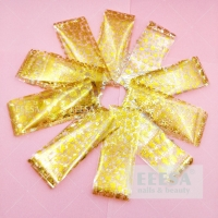 Wholesale 10Pcs Bag Nails Beauty Christmas Tree Snowman Star Flakes Gold Foil Sticker from china suppliers