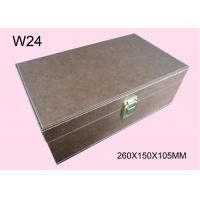 Wholesale Customized Brown Wooden Cosmetic Packaging Box, Wood Gift Boxes With Logo from china suppliers