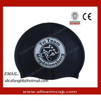 Wholesale Swimming Cap, Customized Printed Logo are Accepted, Measures 23*20cm, Made of silicone from china suppliers