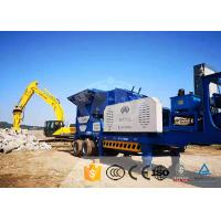 China Granite Crawler Mobile Crusher Wide Use Cone Mobile Crusher Machine for sale