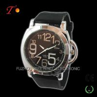 Creative Leather Strap Quartz Wrist Watch colorful band for Man