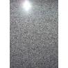 Polished / Honed Granite Countertop Slabs , Dark Grey Granite Stone Flooring for sale