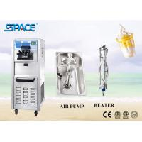 China Stainless Steel Ice Cream Making Soft Serve Freezer With Self Cleaning System for sale
