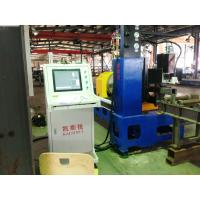Wholesale tube flame cutting machine,tube plasma cutter,used pipe cnc plasma from china suppliers