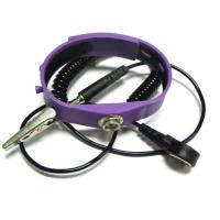 China Silicon Anti Static Wristband Coil Cord Dia. 2.5mm Length 2.4m Purple Pink Blue Yellow on sale