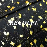 Buy cheap Seamless Free Cut Activewear Knit Fabric Laser Foil Embossing Printed Colors from wholesalers