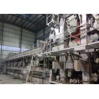 China Two Fourdrinier Wire Kraft Paper Making Machine Multi Dryers Right Hand Type for sale