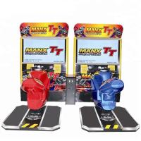Wholesale 2 Players Coin Operated Racing Arcade Machine L2350*W2050*H2100 mm from china suppliers