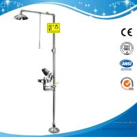 China SH712BSC-dust cover emergency shower and eye wash,sfety shower and eyewash fountain on sale