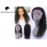 """Wholesale Raw Unprocessed Natural black Water Wave Human Hair Lace Wigs , 14""""-24"""" Inch Length from china suppliers"""