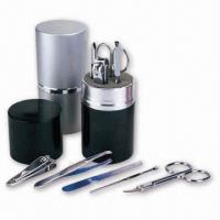 China Manicure Set in Aluminum Case on sale