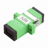 Wholesale SC Female to Female Bulkhead Type Fixed Attenuator, Made of PBT and ABS from china suppliers