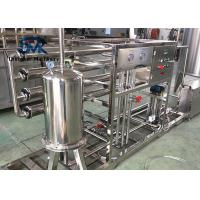 China Automatic Water Treatment System 4 Tons Water Purifying Machine With Hydranautics Filter Membrane on sale