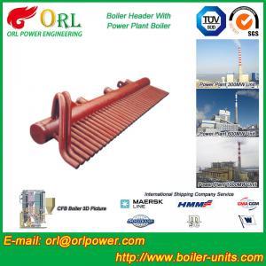 100 Ton Boiler Header Manifolds Carbon Steel Boiler Unit for Natural Gas Industry
