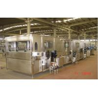 Quality Automatic Water Spraying Bottle Cooling Tunnel For Hot Filling Production Line for sale
