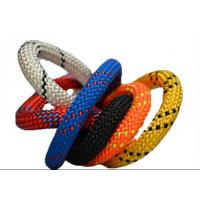 Wholesale 10.2MM X 60M Polyester nylon 32 48 braides safety climbing rope code line from china suppliers