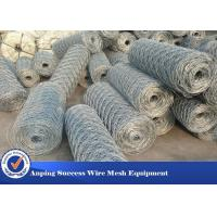 Quality Heavy Duty Economical Gabion Wire Mesh Roll / Gabion Wall Mesh For Guiding Bank for sale
