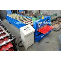 Best Material Thickness Roofing Sheet Roll Forming Machine 1250 mm Width wholesale