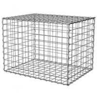 Wholesale 100x100x50cm Welded Gabion Wire Mesh Retaining Wall For Building Square Hole Shape from china suppliers