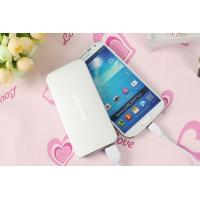 Wholesale Ultra Thin Universal Portable Power Bank , 5000mah Mobile Charger from china suppliers