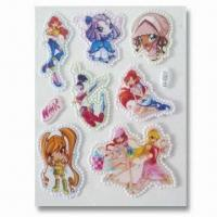 Wholesale Foam and PVC Stickers, Customer's Designs are Accepted, Suitable for Decoration from china suppliers