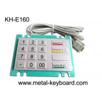 China Bank Kiosk Metal PinPad with Water - proof Vandal resistant Keypad for sale