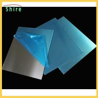 China Blue Color PE Protection Film For Stainless Steel Sheet Blue PE Protection Film on sale