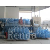 Micro - Computer Bottle Washing Filling Capping Machine For 5 Gallon Barrel 450BPH