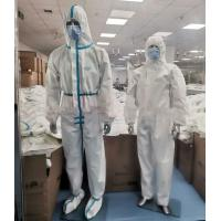 Wholesale Latex Free Disposable Protective Suit , Disposable Full Body Suit Skin Friendly from china suppliers
