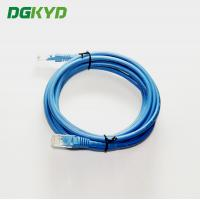 China UTP FTP Cat5e 3M Ethernet Patch Cable , Multi - Pair UTP 26AWG Network LAN Cable on sale