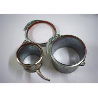 China OEM Galvanized Round Quick Fit Steel Duct Clamp For Dust Extraction System for sale
