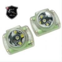 China KL6-C led mining cap lamp miner's lamp with OLED display with date,battery capacity and series NO for sale