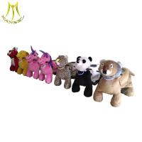 Wholesale Hansel  four wheel zippy battery kids animal scooter rides battery operated walking animal from china suppliers