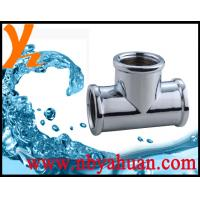 China durable zinc alloy pipe tee on sale
