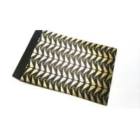 Gold printed gift paper card packaging bags printing services for sale